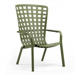Кресло с откидной спинкой Folio